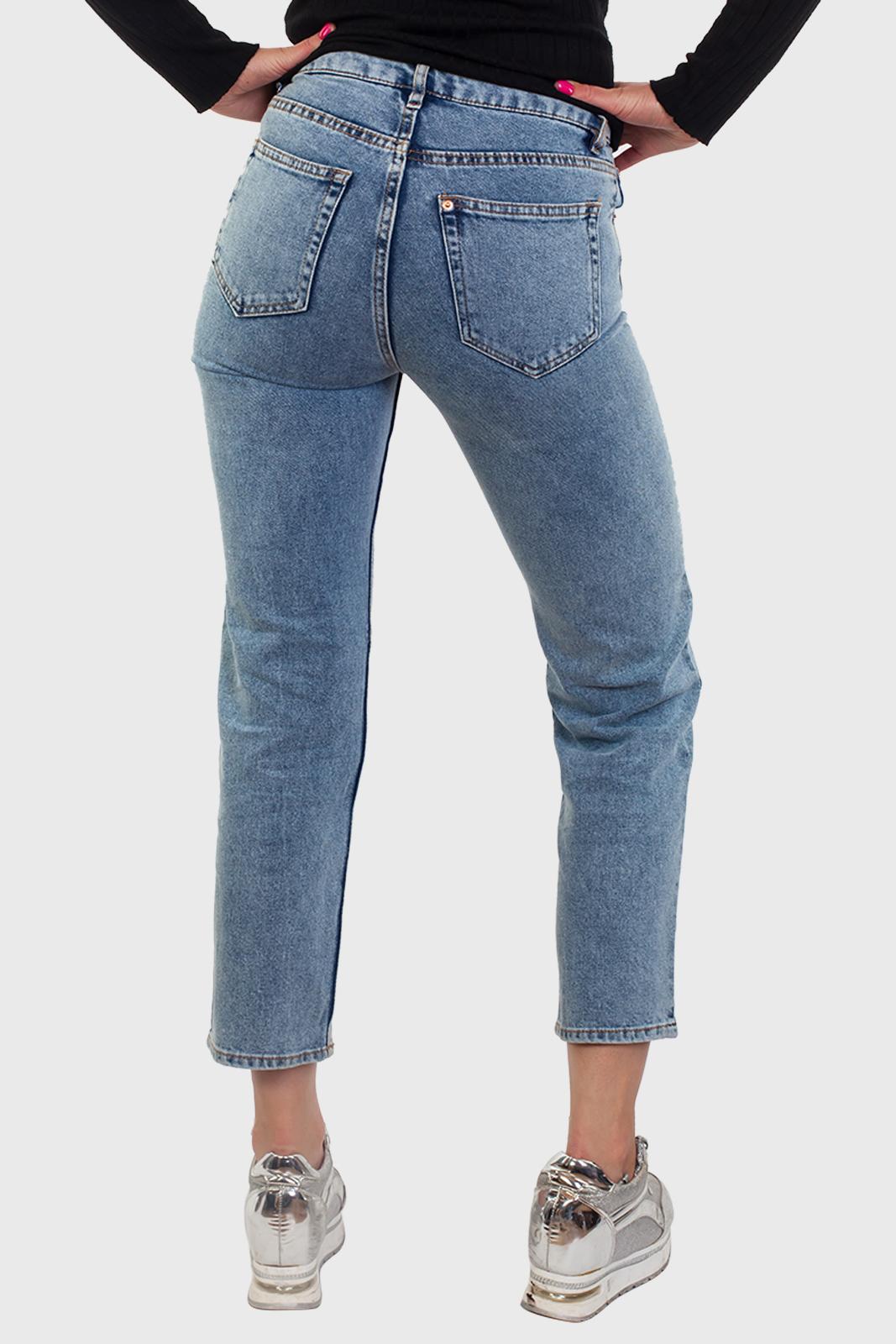 Укороченные женские джинсы оптом