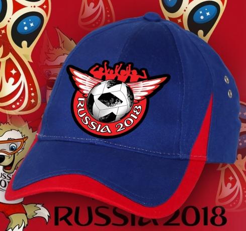 Улетная фанатская бейсболка RUSSIA.