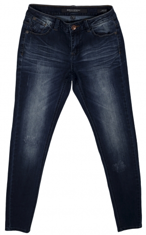 Ультрамодные джинсы от Broadway с искусственными потертостями