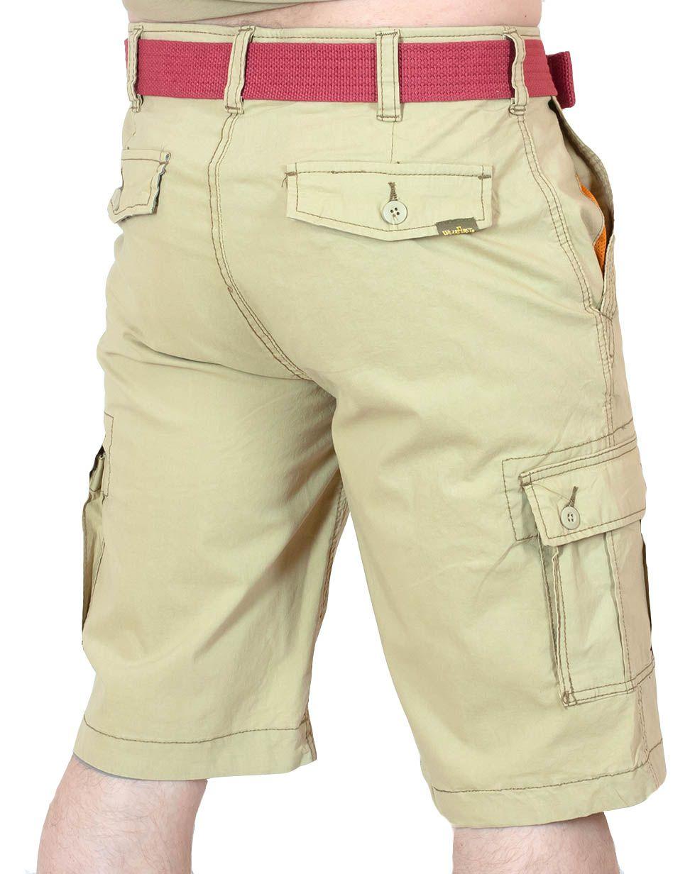 Ультрамодные шорты карго Wear First - вид сзади