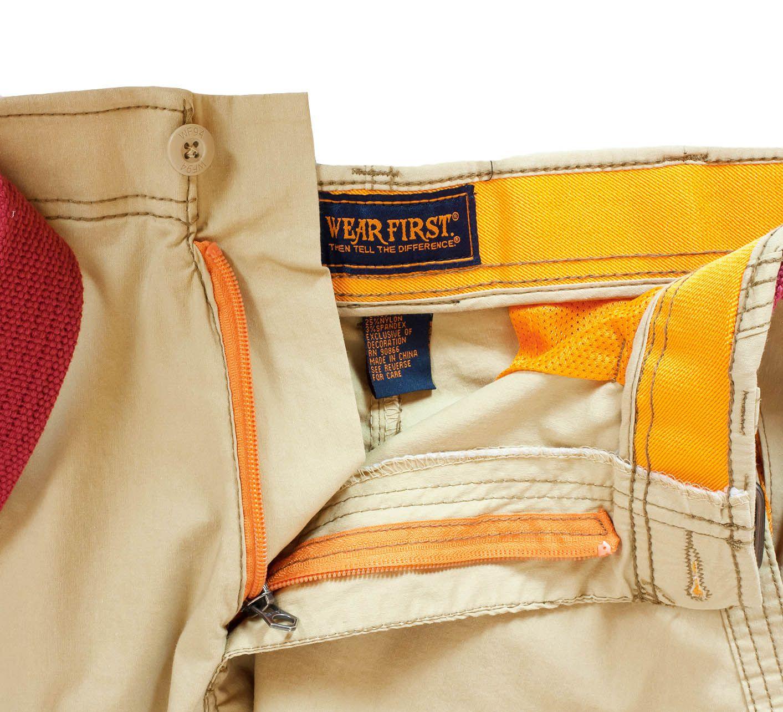 Ультрамодные шорты карго Wear First - ярлык