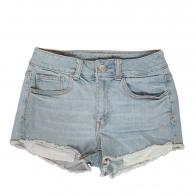 Купить умеренно короткие джинсовые шорты