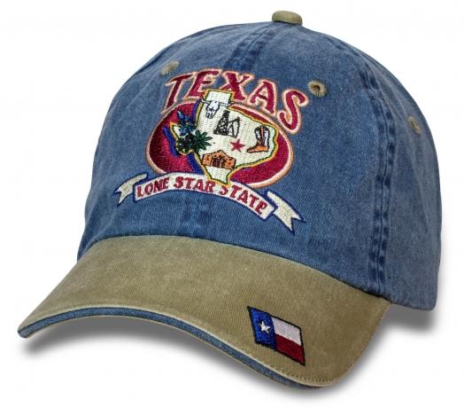 Уникальная бейсболка Texas Lone Star State