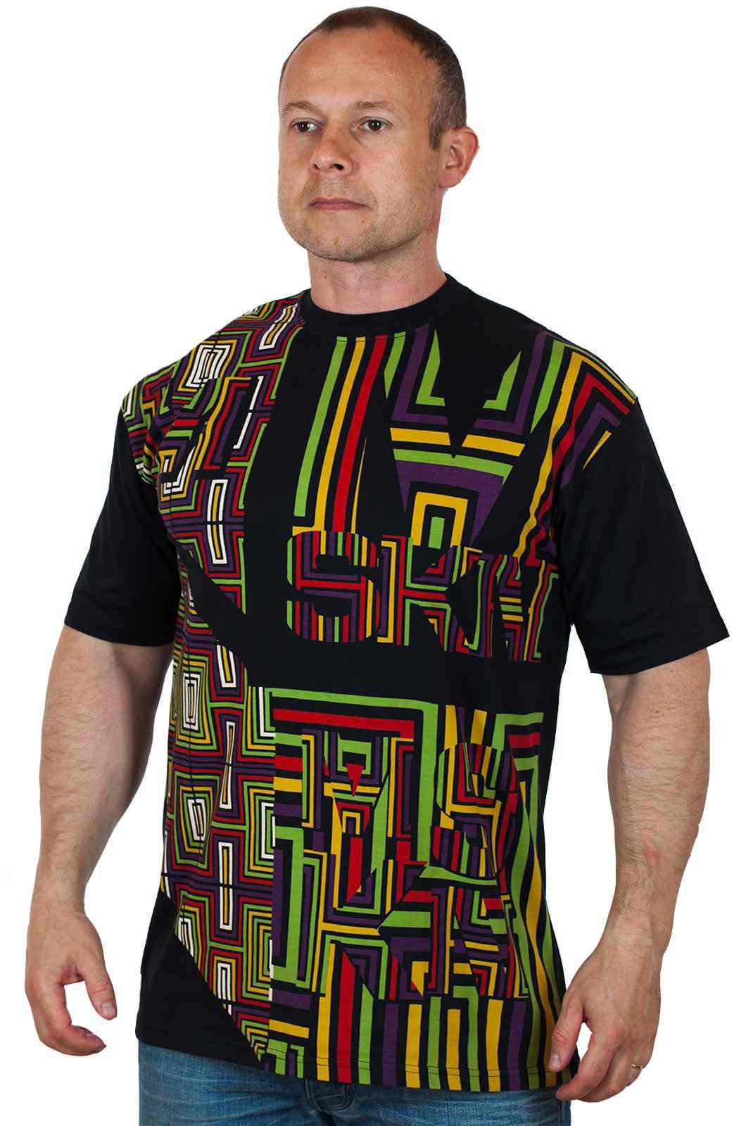 Уникальная дизайнерская футболка от Miskeen Originals №124