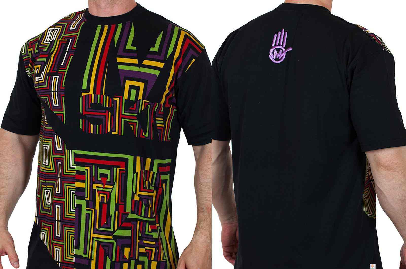 Уникальная дизайнерская футболка от Miskeen Originals-двойная
