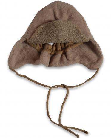 Уникальная глубокая мужская флисовая шапка с ушками. Уютная стильная модель - полный комфорт по минимальной цене