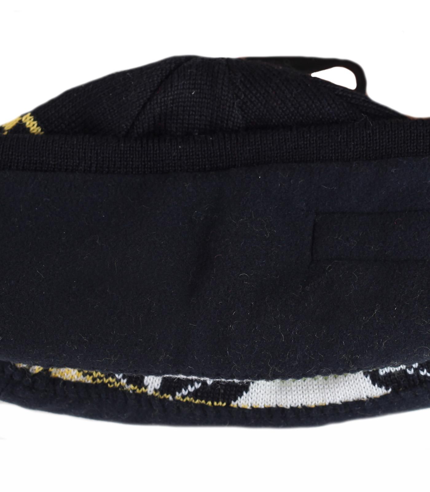 Купить уникальную мужскую шапку Arctic Fox обворожительного дизайна с орнаментом на флисе по лучшей цене