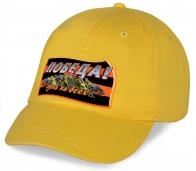 Уникальная стильная кепка из хлопка ПОБЕДА авторского дизайна с георгиевской ленточкой. Покупайте выгодно в Военпро в качестве подарка ветерану или патриоту