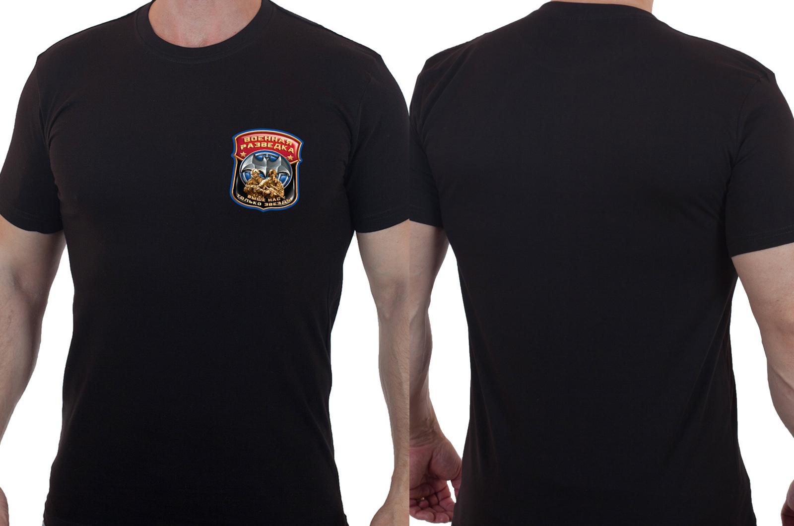 Уникальная военная футболка «Выше нас только звезды».