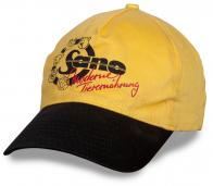 Unisex бейсболка - выделяйся из толпы! Контрастный желто-черный цвет, модный фасон, удобная форма. Заказывай, пока не разобрали!