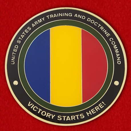 United States Army Trainingb and Doctrine Command Challenge Coin