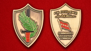 """""""United States Central Command"""" Challenge Coin"""