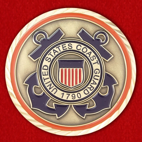 United States Coast Guard Director of Intelligence Challenge Coin