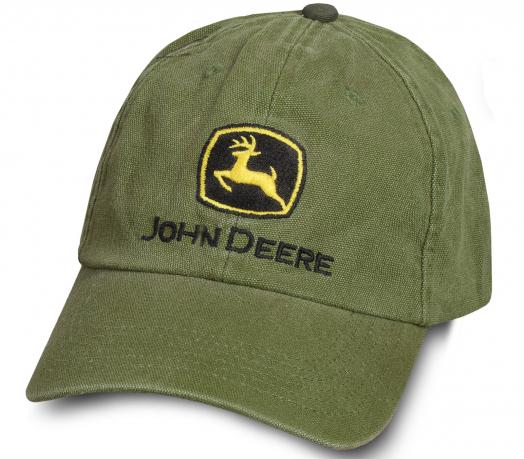 Универсальная бейсболка John Deere.
