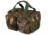 Универсальная дорожная сумка в камуфляже Woodland
