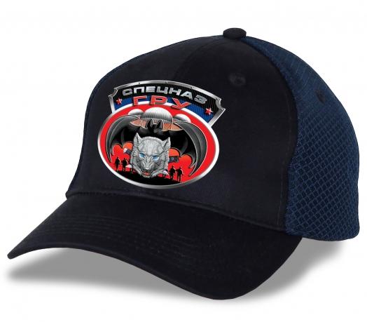 """Универсальная кепка """"Спецназ ГРУ"""". Отменный головной убор лучшего качества для тех, кто в теме!"""