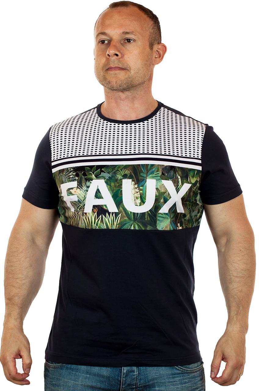 Хлопковая мужская футболка с доставкой по Москве и России