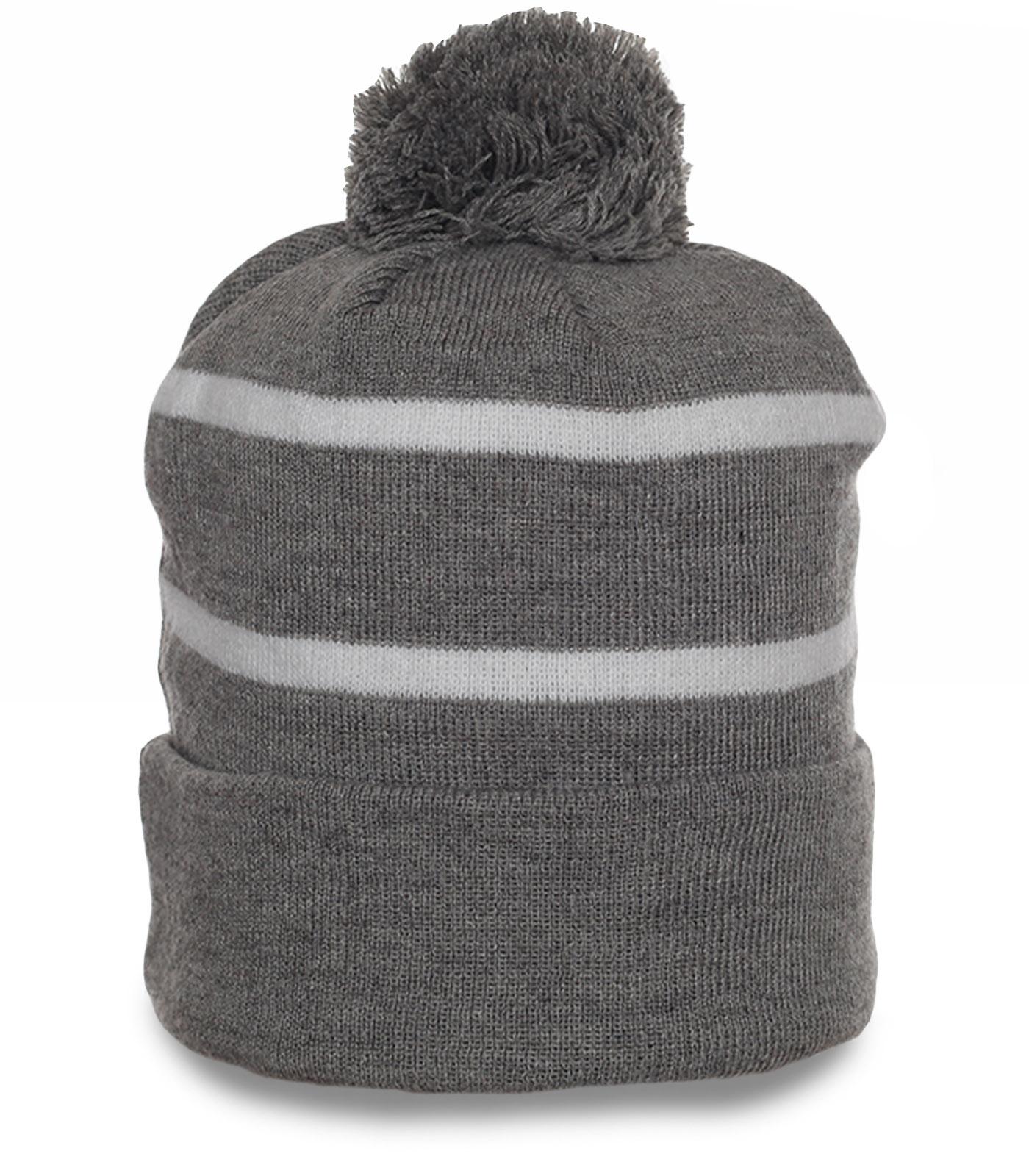 Универсальная шапка на флисе. Уютная модель для капризной погоды