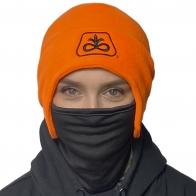 Универсальная зимняя антивирусная шапка-маска DuPont Fleece 2-in-1