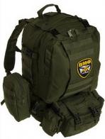 Универсальный армейский рюкзак с нашивкой ВМФ - купить онлайн