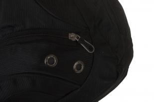 Универсальный черный рюкзак с Гербом России купить по лучшей цене