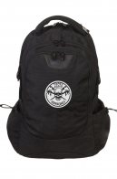 Универсальный черный рюкзак с нашивкой ОПЛОТ Спецназ