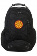 Универсальный черный рюкзак с нашивкой Светоч