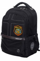 Универсальный черный рюкзак с военной нашивкой Афган - купить оптом
