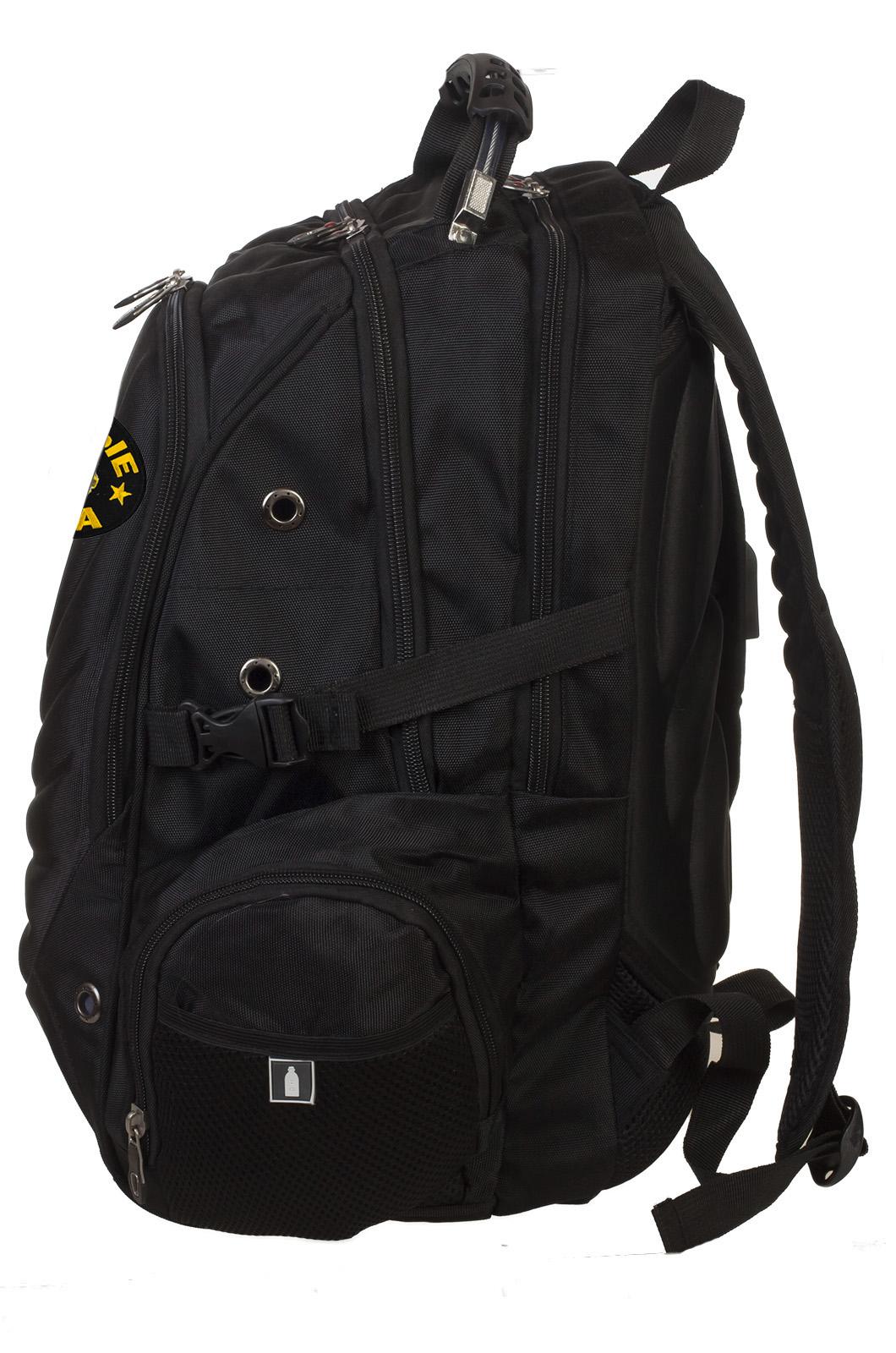 Универсальный городской рюкзак с шевроном Танковых войск купить онлайн
