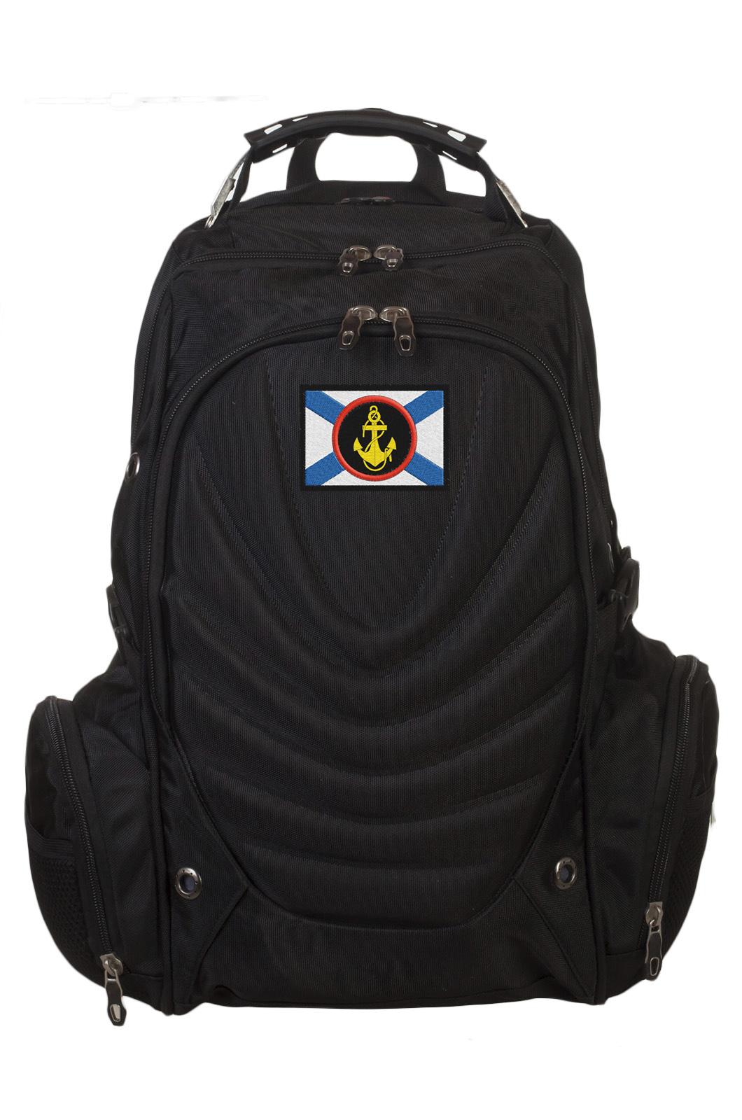Универсальный крутой рюкзак с нашивкой Морпех