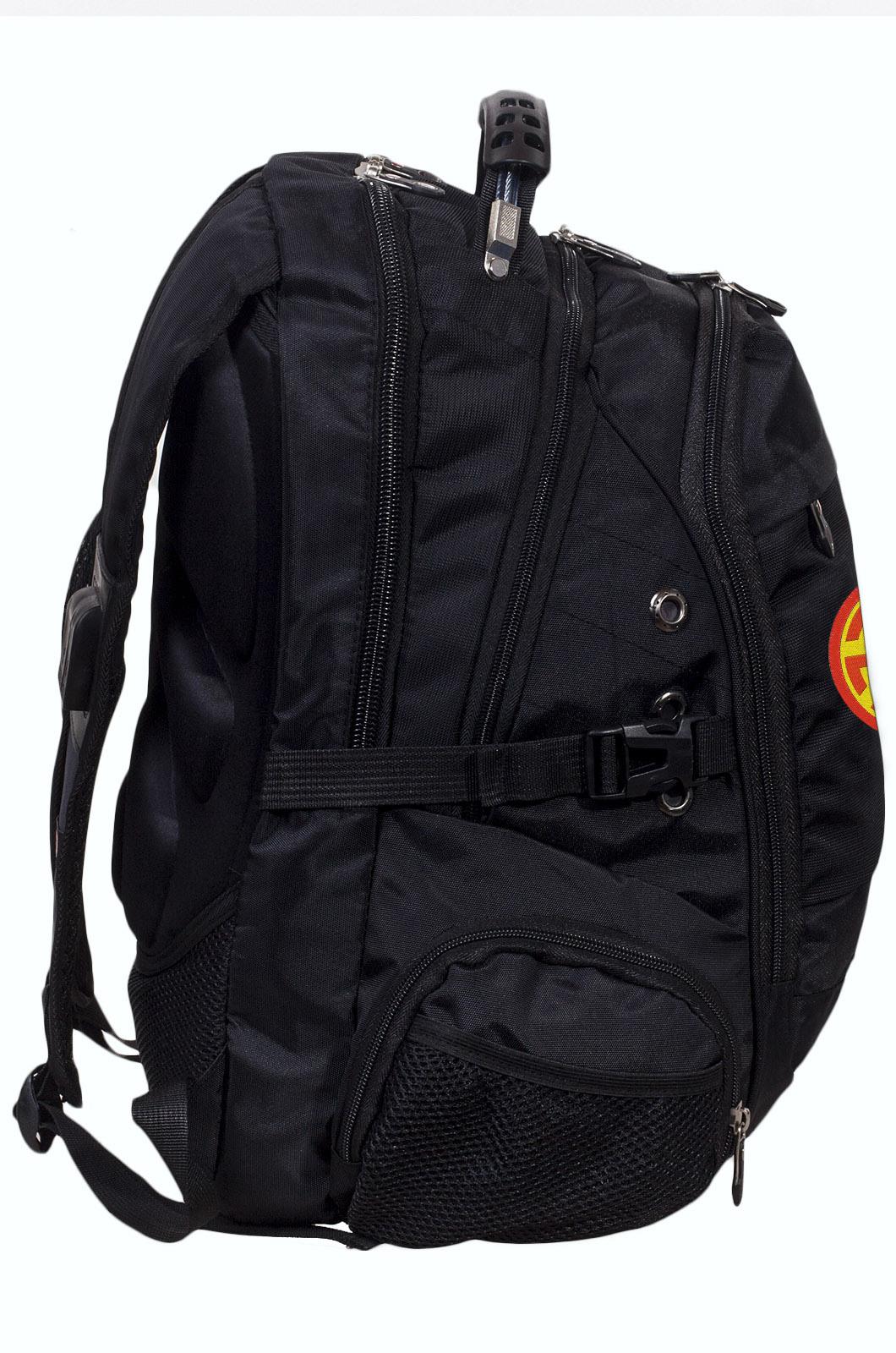 Заказать универсальный мужской  рюкзак с нашивкой Светоч