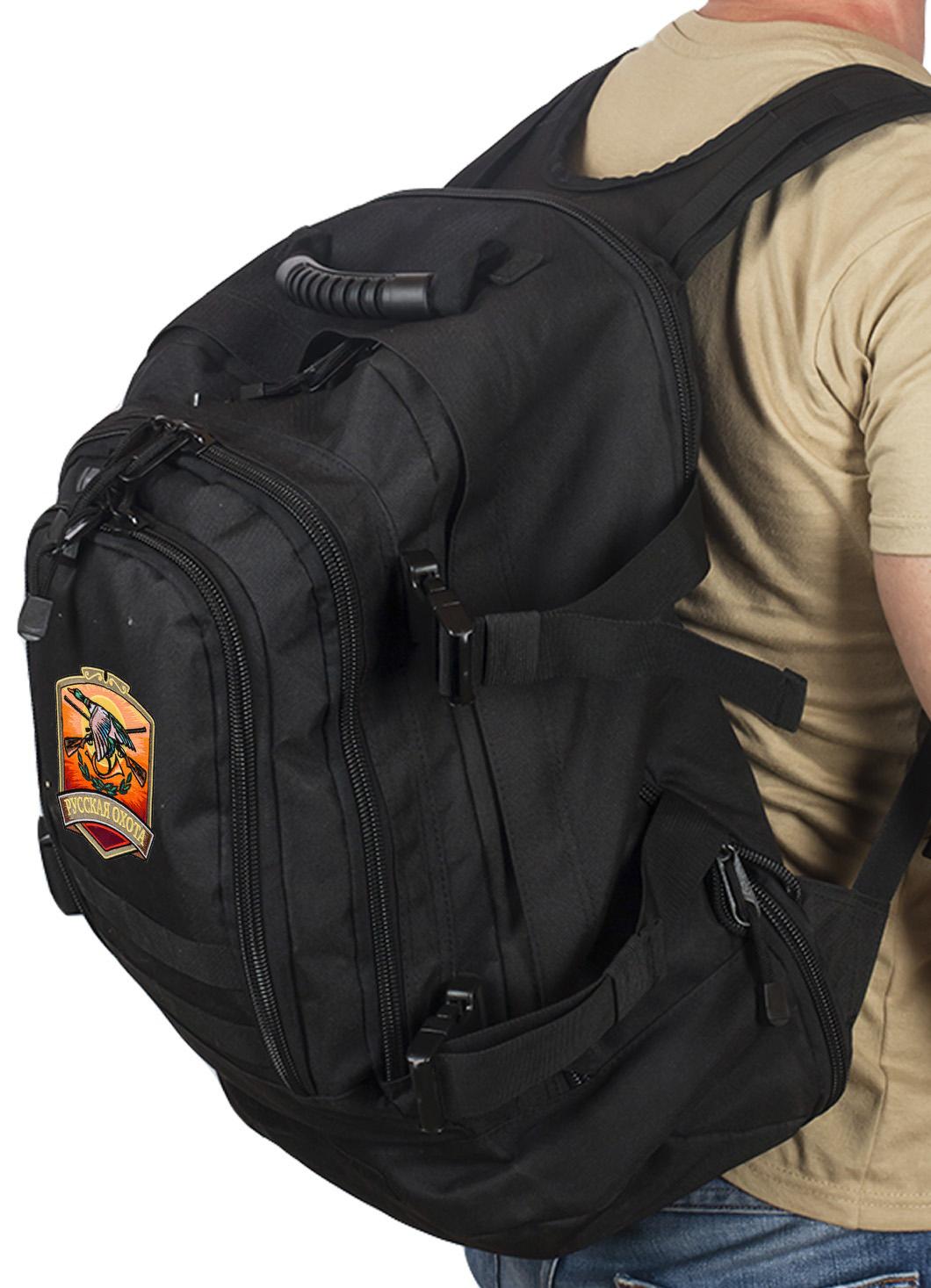 Универсальный охотничий рюкзак с нашивкой Русская Охота