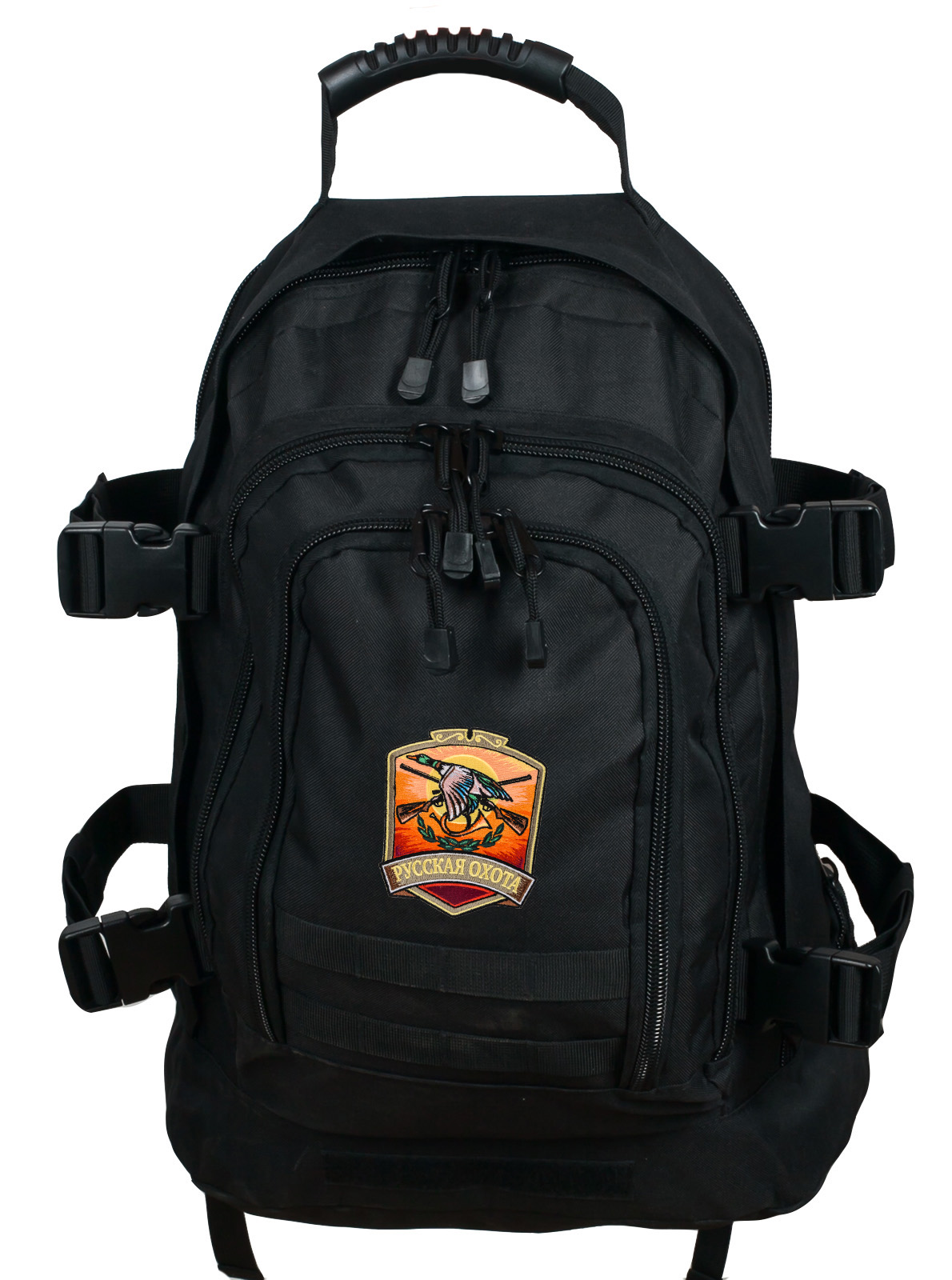 Универсальный охотничий рюкзак с нашивкой Русская Охота - купить с доставкой