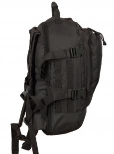 Универсальный рюкзак для города и полевых выходов 3-Day Expandable Backpack 08002A Dark Grey с эмблемой МВД оптом в Военпро