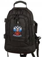 """Универсальный рюкзак для города и полевых выходов 3-Day Expandable Backpack 08002A Dark Grey с эмблемой """"Россия"""""""