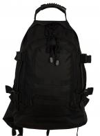 Универсальный трехдневный рюкзак Expandable Backpack (40-60 литров, черный)
