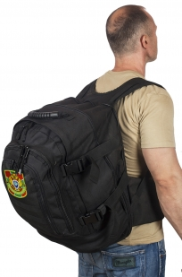 Универсальный трехдневный рюкзак с нашивкой Пограничной службы - заказать  подарок