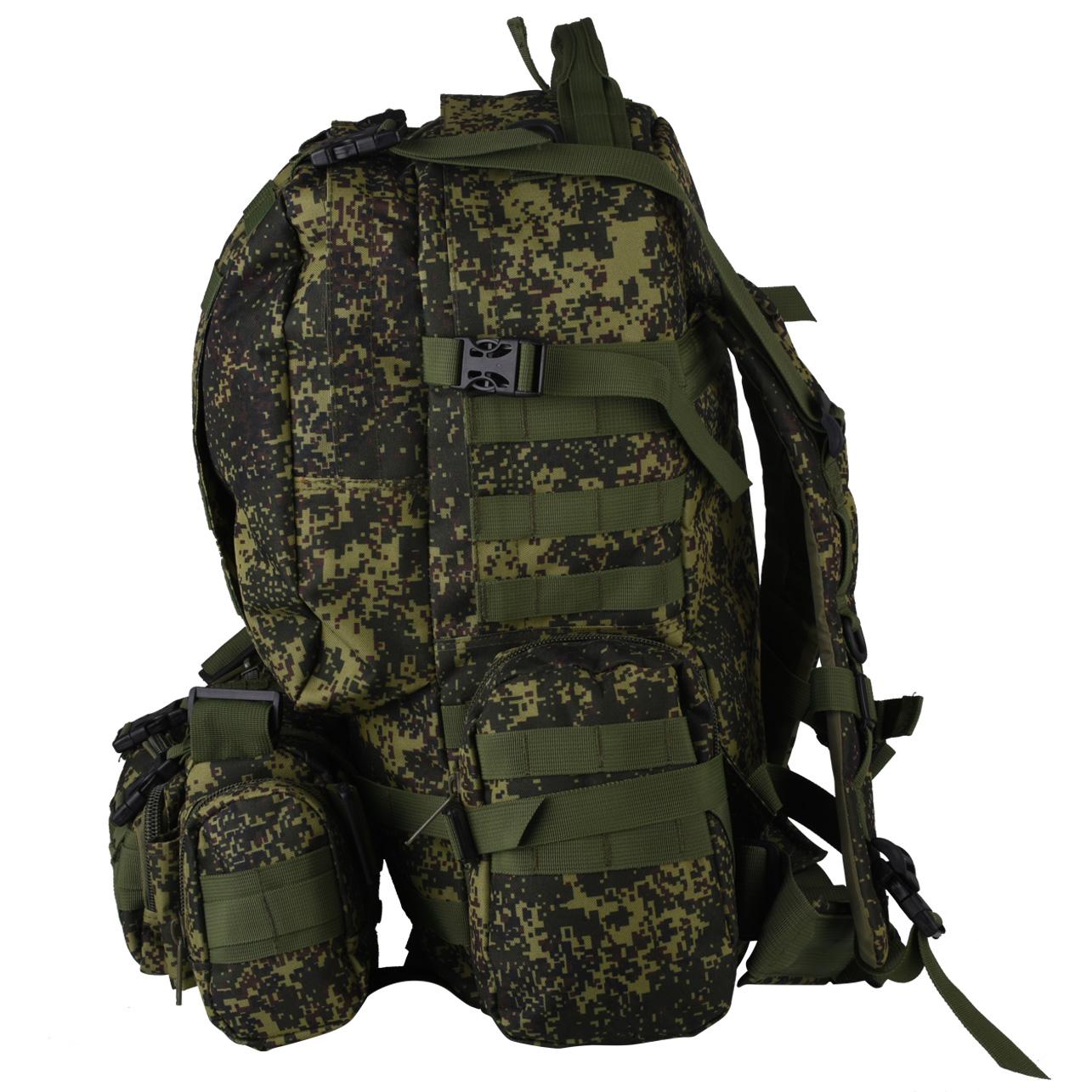 Универсальный военный рюкзак с нашивкой ФСО - заказать в подарок