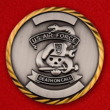 US Air Force 116th ASOS/TACP Challenge Coin - obverse