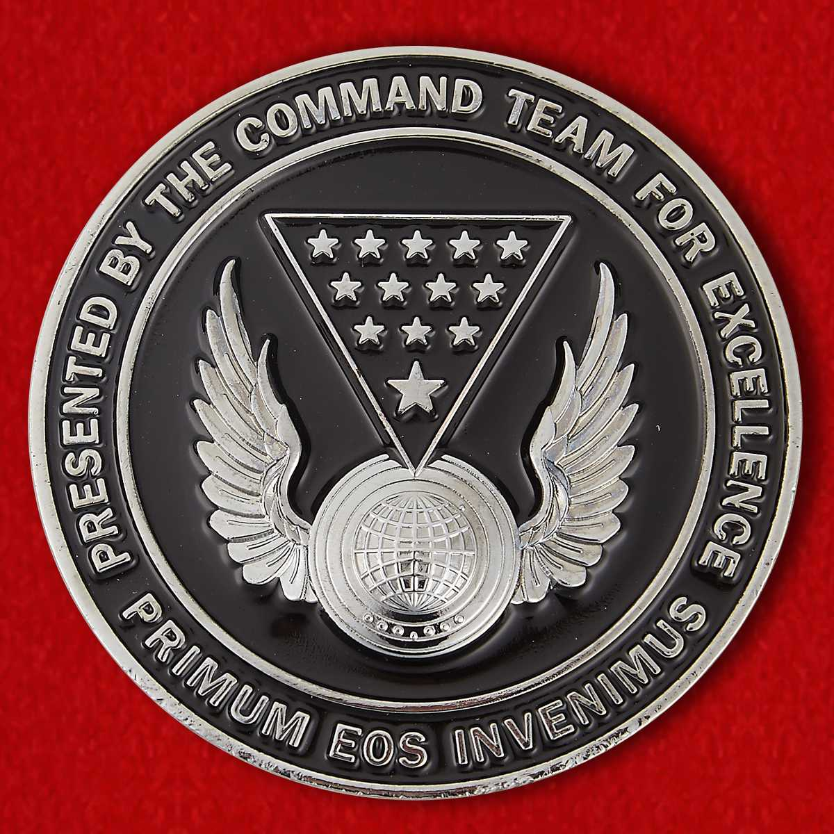 US Air Force 13th Intelligence Squadron Dark Knights Challenge Coin
