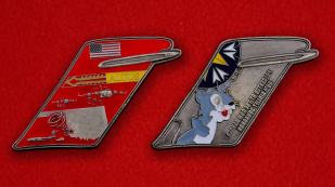 US Air Force 58th Airlift Squadron Challenge Coin - both sides