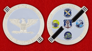 US Air Force Global Strike Command 582nd Helicopter Group Challenge Coin