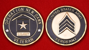 US Army Operation New Dawn Veteran Sergeant
