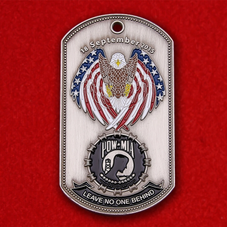 "US Army POW-MIA Prisoners Of War ""Leave No One Behind"" Token"