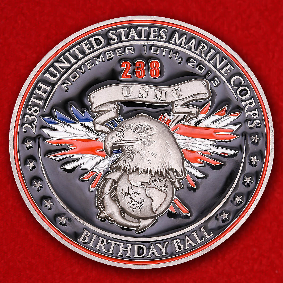"US Marine Corps Headquarter Battalion 2nd Marine Division ""USMC 238th Birthday Ball"""