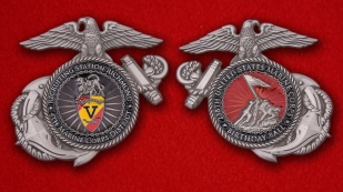 US Marine Corps Recruiting Station Richmond Challenge coin