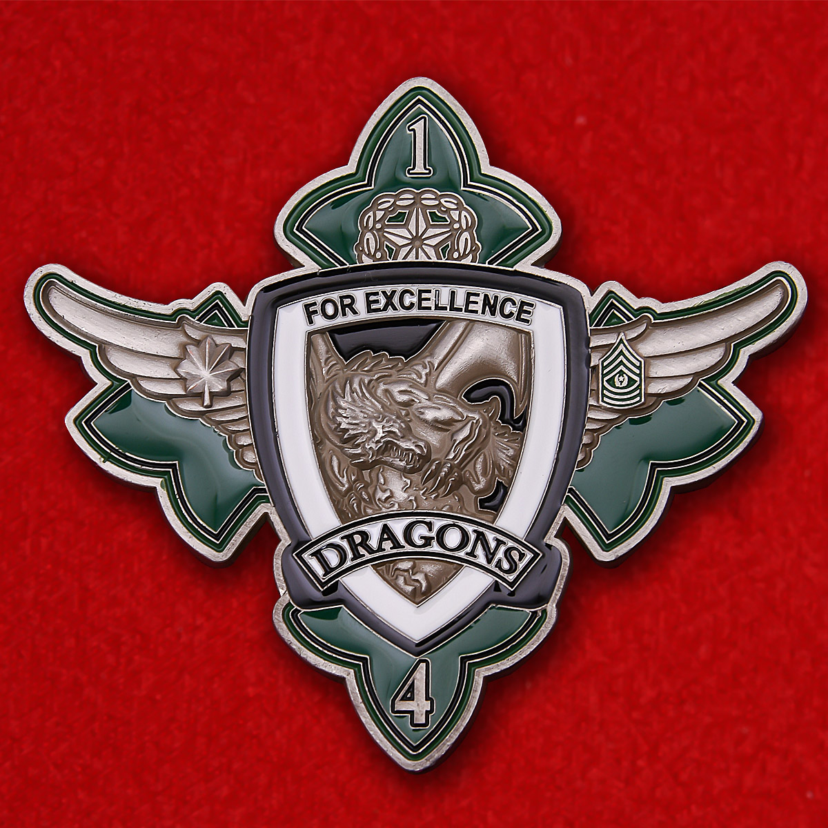 "US Marine Corps VMM-265 Sqadron ""Dragons"" Challenge Coin"
