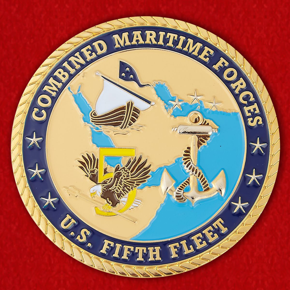 U.S. Naval Forces Central Command Chieff of Staff Challenge Coin