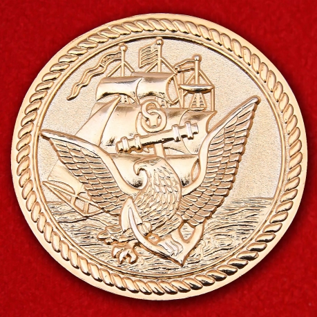 "US Navy Initiaded Chiefs ""The Chosen Few"" Challenge Coin"