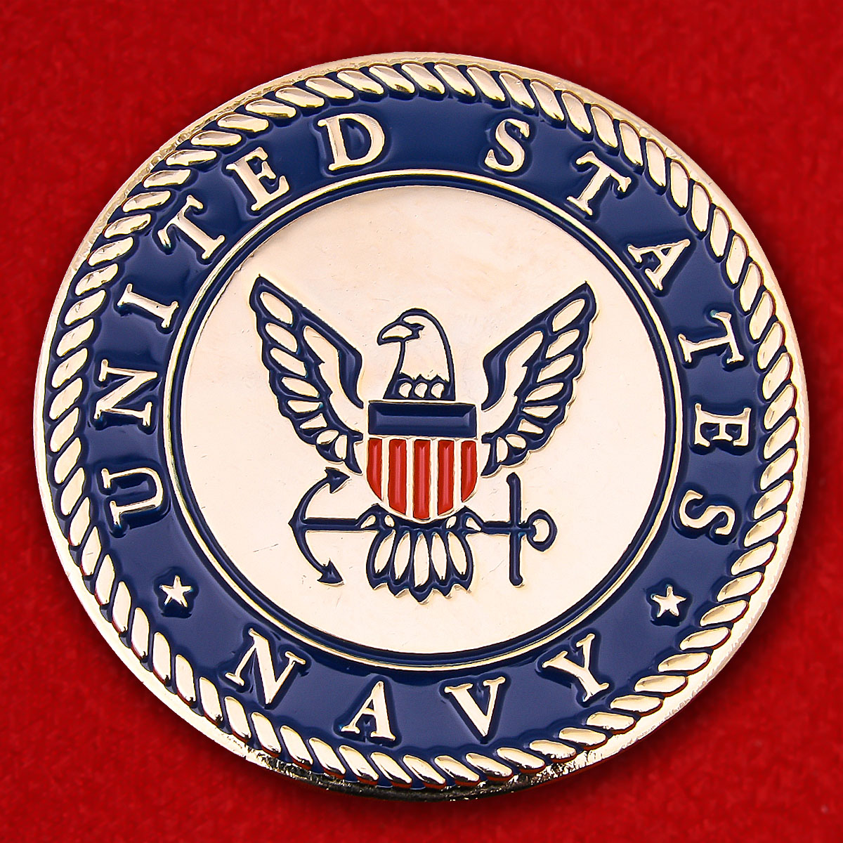 US Navy Operation Enduring Freedom, Afghanistan Challenge Coin